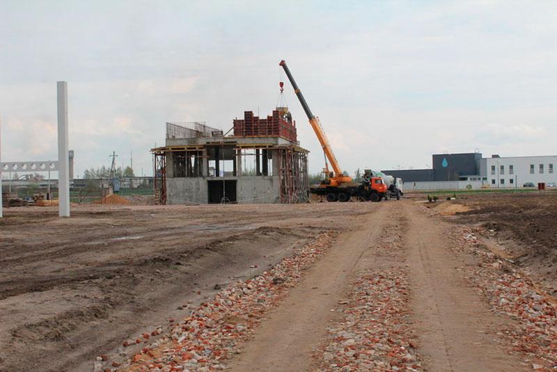 Construction ecotechnopark 1